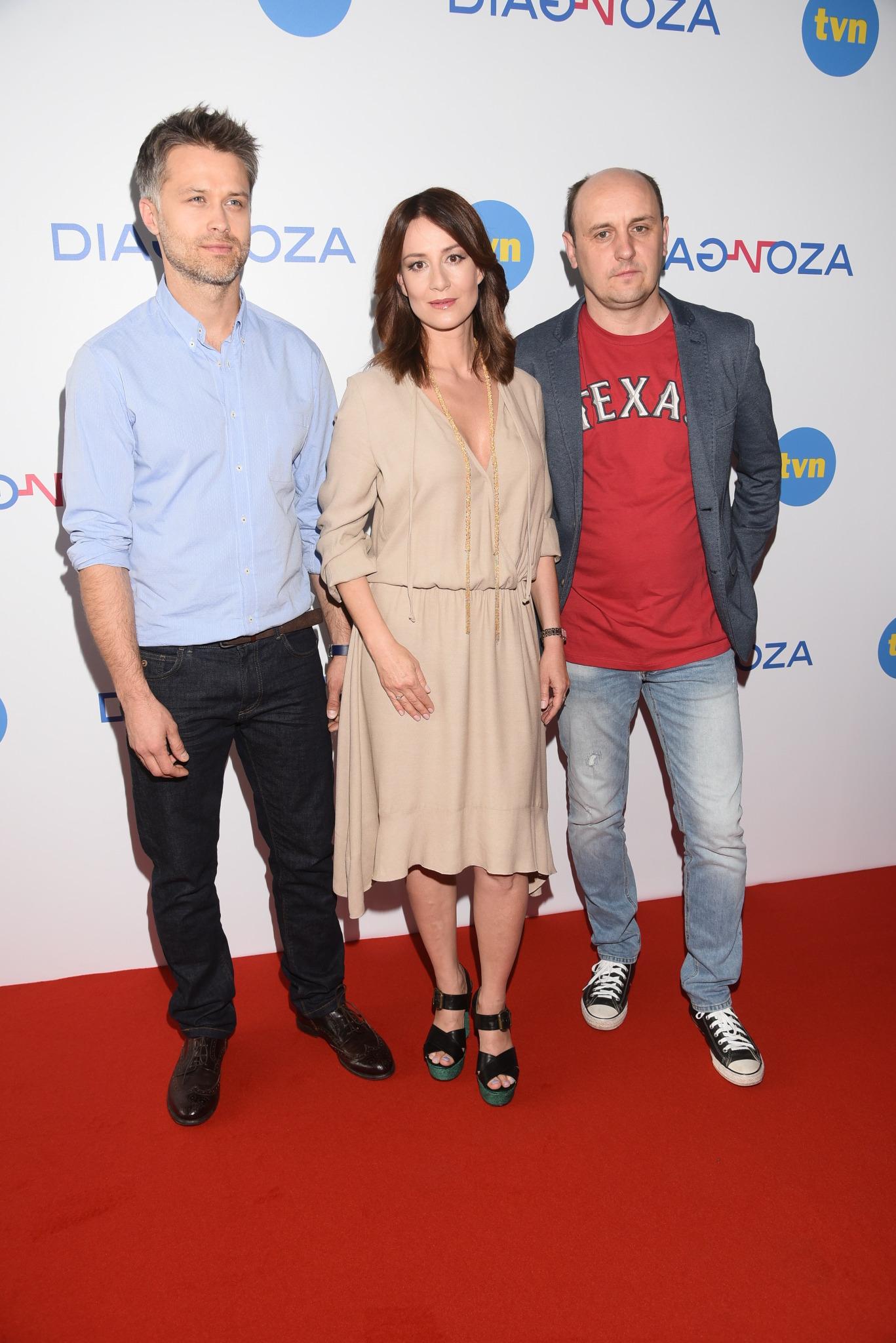 Maciej Zakościelny, Maja Ostaszewska i Adam Woronowicz